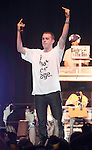Rapper Sam Adams (Samuel Adams Wisner) performs at the Carpenter Center at the University of Delaware in Newark, De April 7, 2011. Copyright EML/Rockinexposures