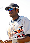 13 March 2007: Detroit Tigers outfielder Cameron Maybin in the action against the Los Angeles Dodgers at Holman Stadium in Vero Beach, Florida.<br /> <br /> Mandatory Photo Credit: Ed Wolfstein Photo