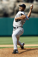 Anaheim, CA July 24, 2005 Mariano Rivera  In a MLB game played between the New York Yankees and the Los Angeles