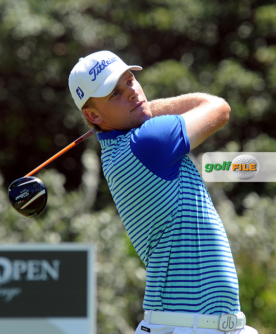 EAST LONDON, EASTERN CAPE, SOUTH AFRICA FEBRUARY 17 - Morten Drum Madisen of Denmark during the fourth and final day of the Africa Open Open Golf Challenge at the East London  Golf course. ..Photo: Catherine Kotze/SASPA