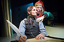 God In Ruins,written and directed by Anthony Neilson.A Royal Shakespeare Company Commission.With Patrick O'Kane as Bob Cratchit,Sean Kearns as Scrooge .Opens The Soho Theatre on 5/12/07 . CREDIT Geraint Lewis