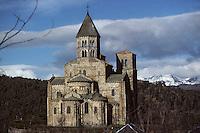 Europe/France/Auverne/63/Puy-de-Dôme/Saint-Nectaire-Le-Haut: L'église romane