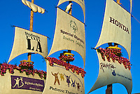 "Honda's ""Ship of Dreams"" Rose Parade Float Sailing"