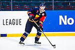 Stockholm 2014-08-21 Ishockey CHL Djurg&aring;rdens IF - Fribourg-Gotteron  :  <br /> Djurg&aring;rdens Andreas Englund  <br /> (Foto: Kenta J&ouml;nsson) Nyckelord:  Djurg&aring;rden Hockey Hovet CHL Fribourg Gotteron portr&auml;tt portrait