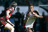 Siale Piutau during the Ranfurly Shield challenge against Canterbury at Jade Stadium on the 10th of September 2006. Canterbury won 32 - 16.