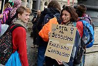 Roma, 24 Novembre 2018<br /> Non Una Di Meno, Manifestazione nazionale contro la violenza maschile sulle donne
