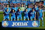 Team photo of Getafe FC during La Liga match between Getafe CF and Real Madrid at Coliseum Alfonso Perez in Getafe, Spain. January 04, 2020. (ALTERPHOTOS/A. Perez Meca)