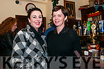 Muireann Ní Shúilleabhain and Josephine Moriarty (from Dingle) enjoying Other Voices in Dingle over the weekend.