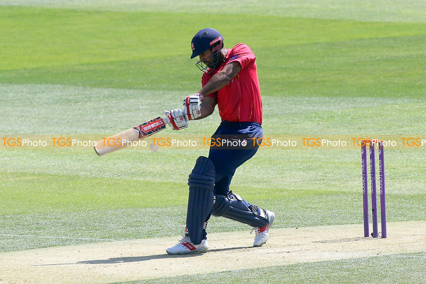 Varun Chopra in batting action for Essex during Essex Eagles vs Sussex Sharks, Royal London One-Day Cup Cricket at The Cloudfm County Ground on 10th May 2017
