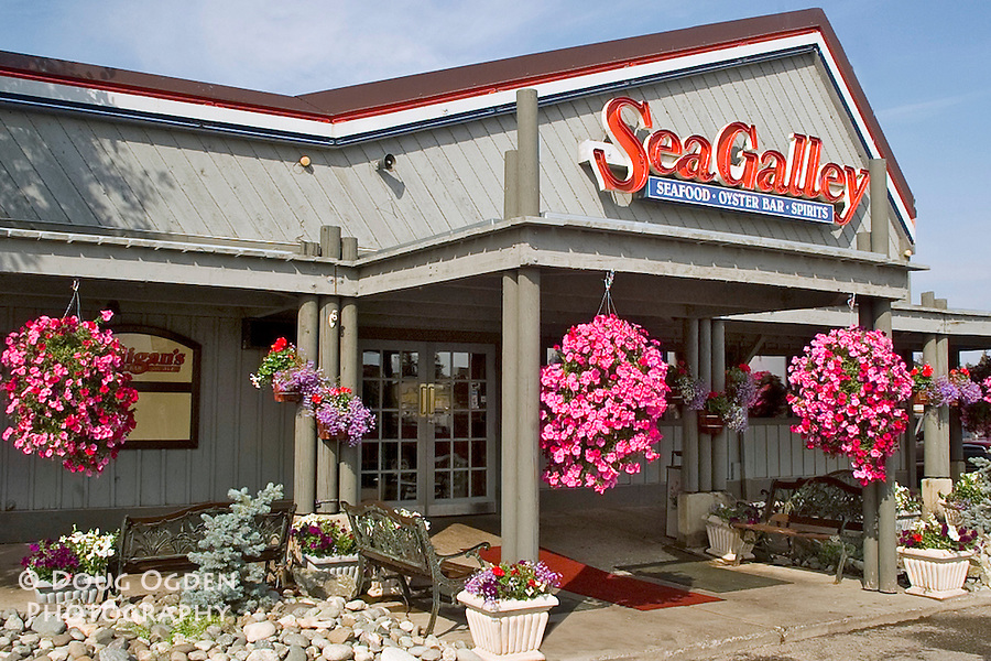 Assignment to photograph Sea Galley Exterior