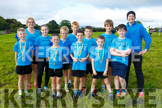 At the Juvenile cross country in Currow were St brendan's AC