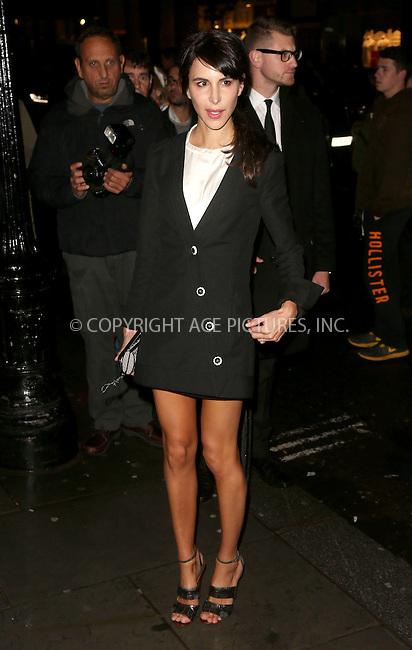 WWW.ACEPIXS.COM<br /> <br /> US Sales Only<br /> <br /> September 15 2013, London<br /> <br /> Caroline Sieber arrives at the Vogue dinner held at Balthazar during London Fashion Week SS14 on September 15 2013 in London<br /> <br /> By Line: Famous/ACE Pictures<br /> <br /> <br /> ACE Pictures, Inc.<br /> tel: 646 769 0430<br /> Email: info@acepixs.com<br /> www.acepixs.com