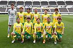 Jef Chiba Ladies team group line-up, APRIL 4, 2015 - Football /Soccer : Plenus Nadeshiko League 2015 between Urawa Reds Ladies 0-1 JEF United Ichihara Chiba Ladies  at Fukuda Denshi Arena, Chiba, Japan. (Photo by Sho Tamura/AFLO SPORT) [1180]