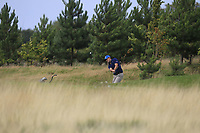Andrea Pavan (ITA) on the 8th during Round 1 of the Bridgestone Challenge 2017 at the Luton Hoo Hotel Golf &amp; Spa, Luton, Bedfordshire, England. 07/09/2017<br /> Picture: Golffile | Thos Caffrey<br /> <br /> <br /> All photo usage must carry mandatory copyright credit     (&copy; Golffile | Thos Caffrey)