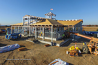 Meigs Point Nature Center at Hammonasset Beach State Park  <br /> Connecticut State Project No: BI-T-601<br /> Architect: Northeast Collaborative Architects  Contractor: Secondino & Son<br /> James R Anderson Photography New Haven CT photog.com<br /> Date of Photograph: 03 November 2015<br /> Camera View: 31 - Aerial by Quadcopter