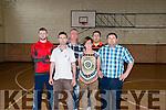 L-R Donal Rice, Shane Falvey, Pat Rice, Kayan Rice, Damian Fitzpatrick and Patrick O'Brien.