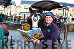 Even the horses are studying: Killarney jarvey Michael Sweetman and his horse Arthur Guinness are catching up on their Chinese for the expected influx of Asian tourists