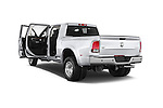 Car images close up view of a 2015 Ram 3500 Laramie 4 Door Van doors
