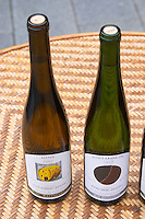Clos Rebberg Riesling Aux Vignes 2002 and Wiebelsberg Riesling la Dame Grand Cru 1999. Domaine Marc Kreydenweiss, Andlau, Alsace, France
