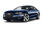 Stock pictures of low aggressive front three quarter view of 2017 Audi S5-Coupe 3.0T-quattro-manual 2 Door Coupe Low Aggressive