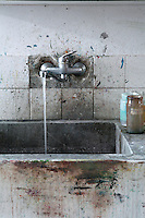close up of sink