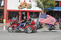 NWA Democrat-Gazette/MICHAEL WOODS • @NWAMICHAELW<br /> 16th annual Bikes Blues and BBQ on Dickson Street  in Fayetteville Wednesday September 23, 2015