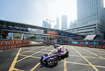 Sam Bird of Great Britain from DS Virgin Racing competes in the Formula E Qualifying Session 2 during the FIA Formula E Hong Kong E-Prix Round 2 at the Central Harbourfront Circuit on 03 December 2017 in Hong Kong, Hong Kong. Photo by Marcio Rodrigo Machado / Power Sport Images