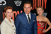 "LOS ANGELES, USA. September 20, 2019: Jessie Buckley, Rufus Sewell & Renee Zellweger at the premiere of ""Judy"" at the Samuel Goldwyn Theatre.<br /> Picture: Paul Smith/Featureflash"