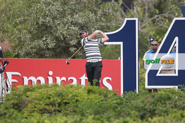Scott JAMIESON (SCO) during round 4 of the DP World, Tour Championship, Dubai, UAE.<br /> Picture: Fran Caffrey www.golffile.ie