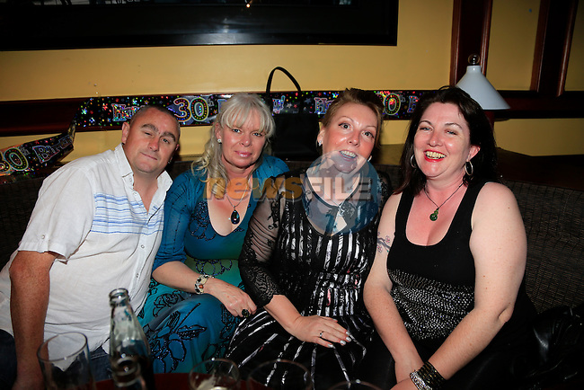 Thomas Gorman Carolyn Oliver Laurianne rice Tracey love on in Drogheda<br /> Picture:  www.newsfile.ie