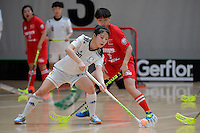 Korea&rsquo;s Jisoo Choi in action during the World Floorball Championships 2017 Qualification for Asia Oceania Region - Korea v China at ASB Sports Centre , Wellington, New Zealand on Saturday 4 February 2017.<br /> Photo by Masanori Udagawa<br /> www.photowellington.photoshelter.com.