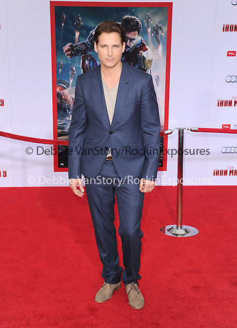 Peter Facinelli at The World Premiere of Marvel's Iron Man 3 held at The El CapitanTheatre in Hollywood, California on April 24,2013                                                                   Copyright 2013 Hollywood Press Agency