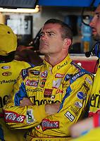 Sept. 20, 2008; Dover, DE, USA; Nascar Sprint Cup Series driver Bobby Labonte during practice for the Camping World RV 400 at Dover International Speedway. Mandatory Credit: Mark J. Rebilas-