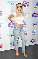 Rita Ora at the Capital FM Summertime Ball 2019, Wembley Stadium, Wembley, London, England, UK, on Saturday 08th June 2019.<br /> CAP/CAN<br /> ©CAN/Capital Pictures