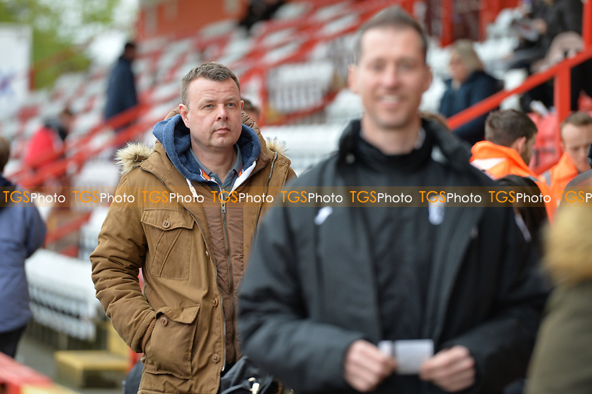 Fans arrive during Stevenage vs Exeter City, Sky Bet EFL League 2 Football at the Lamex Stadium on 28th April 2018