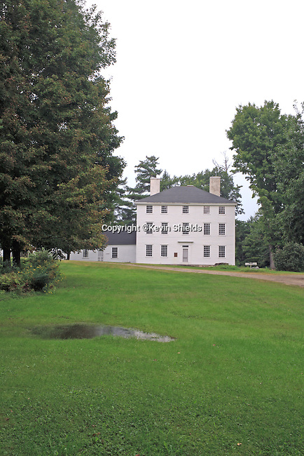 Pownalborough Court House, built in 1761, is the oldest court building in Maine. John Adams practiced law here in the 1770's and went on to become the second president of the young nation of the United States.