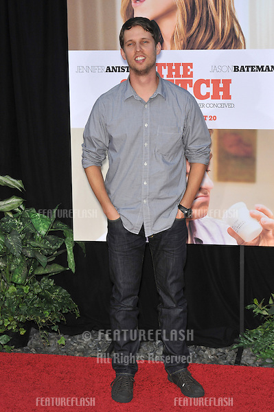 """Jon Heder at the world premiere of """"The Switch"""" at the Cinerama Dome, Hollywood..August 16, 2010  Los Angeles, CA.Picture: Paul Smith / Featureflash"""