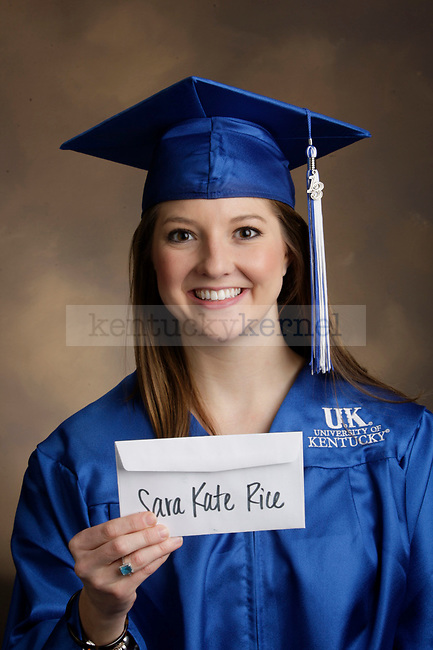 Rice, Sara Kate photographed during the Feb/Mar, 2013, Grad Salute in Lexington, Ky.