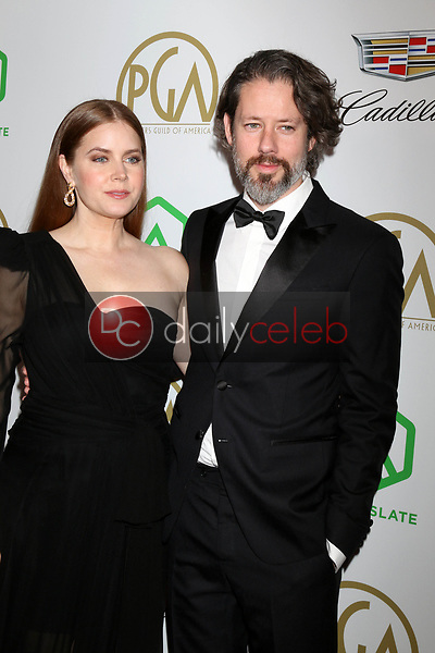 Amy Adams, Darren Le Gallo<br /> at the 2019 Producer's Guild Awards, Beverly Hilton Hotel, Beverly Hills, CA 01-19-19<br /> David Edwards/DailyCeleb.com 818-249-4998