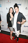 American Figure Skater Sarah Hughes and American Figure Skater Johnny Weir The 2013 Skating with the Stars honoring B Michael and Andrea Joyce -A benefit gala for Figure Skating in Harlem Held At Trump Rink, Central Park, NY
