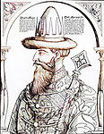 Czar Vassily Ivanovitch (Vasily III), Grand Duke of Moscow, (1479-1533)