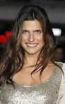 """Actress Lake Bell arrives at the Premiere Of Fox's """"What Happens In Vegas"""" on May 1, 2008 at the Mann Village Theatre in Los Angeles, California."""