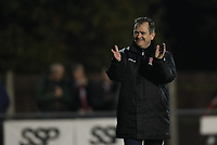 Kingstonian manager Hayden Bird during Kingstonian vs Lewes, BetVictor League Premier Division Football at King George's Field on 16th November 2019