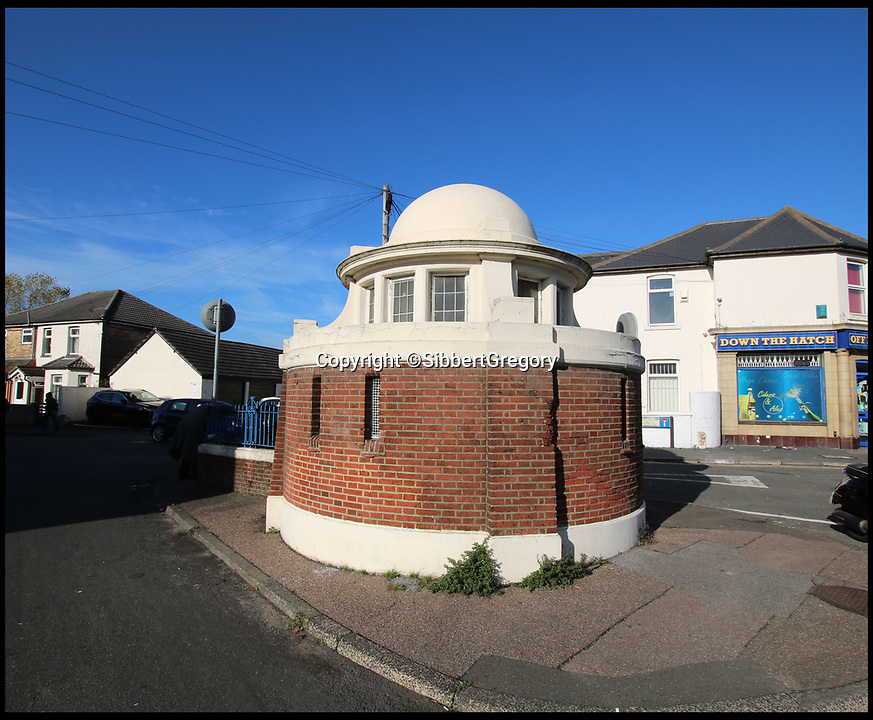 BNPS.co.uk (01202 558833)Pic:  SibbettGregory/BNPS<br /> <br /> Fancy spending a few pennies...<br /> <br /> A Grade II listed public toilet has been put up for sale for £25,000.<br /> <br /> The small building was built in the early 1900s and was used as a public convenience until 2017 when it closed due to council cuts.<br /> <br /> The gents' lavatory that has 111sq ft of floor space could be turned into a commercial premises if planning permission is granted by officials in Bournemouth.