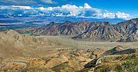 Palm Desert,CA, Overlook, State Route 74 (SR 74), Pines to Palms, Scenic Byway, scenic highway, Mountains, U.S. Panorama