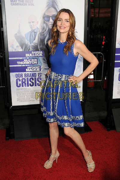 26 October 2015 - Hollywood, California - Saffron Burrows. &quot;Our Brand Is Crisis&quot; Los Angeles Premiere held at the TCL Chinese Theatre. <br /> CAP/ADM/BP<br /> &copy;BP/ADM/Capital Pictures