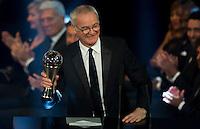 Zurigo 09-01-2017 FIFA Football Awards - Claudio Ranieri, trainer of the year, men, during the Best FIFA Football Awards 2016 in Zurich<br /> Foto Steffen Schmidt/freshfocus/Insidefoto