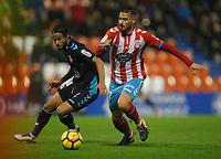 Fecha: 2017-12-10 Partido de Segunda División, Jornada 18 de LaLiga 1,2,3, En el Anxo Carro de Lugo. CDLugo VS C.Leonesa. Foto: Pedro Agrelo