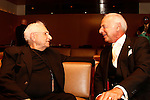 Frank Gehry and Eric Small.Premier U.S.A. Arts High 25th Anniversary Celebration at the Ahmanson Theater in Los Angeles, California.17 April 2010.Photo by Nina Prommer/Milestone Photo