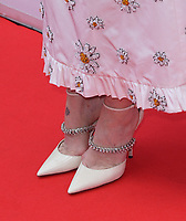 """TORONTO, ONTARIO - SEPTEMBER 07: Sarah Paulson, Shoe Detail attends the """"Abominable"""" premiere during the 2019 Toronto International Film Festival at Roy Thomson Hall on September 07, 2019 in Toronto, Canada.   <br /> CAP/MPI/IS<br /> ©IS/MPI/Capital Pictures"""